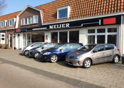 Meijers Garage op de Glipperweg in Heemstede